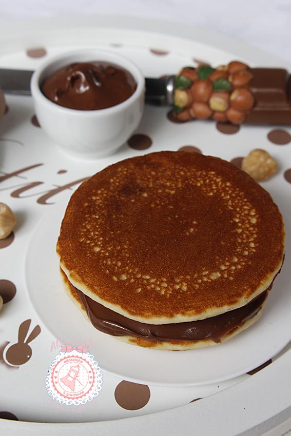 Dorayaki alla nutella ricetta doraemon