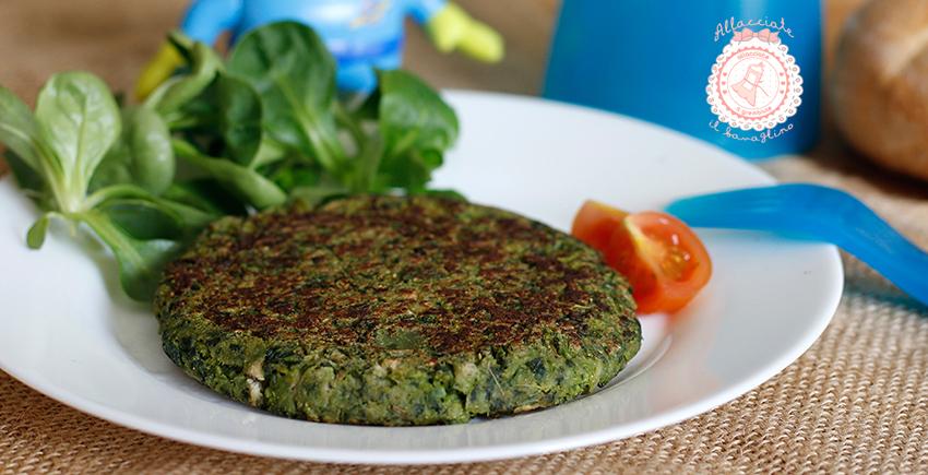 Burger alieni ricetta verdure per bambini