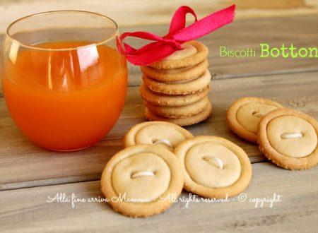 Biscotti bottone da inzuppo