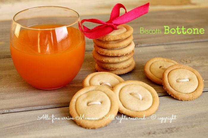 Biscotti bottone da inzuppo Alla fine arriva Mamma