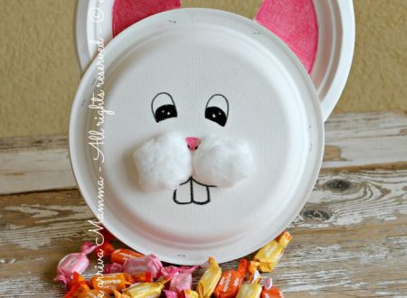 Coniglietto piatti carta portatutto