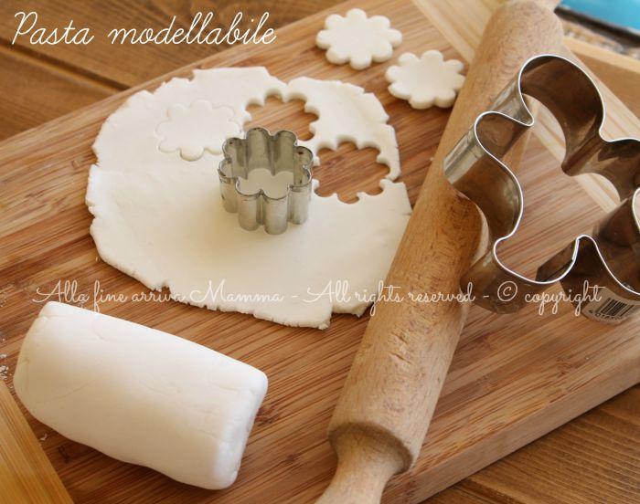 Pasta Bicarbonato Modellabile Alla Fine Arriva Mamma