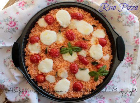 Riso pizza ricetta per bambini