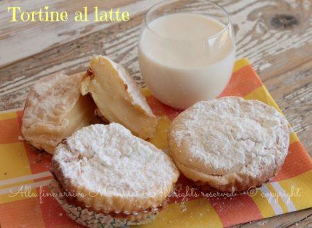 Tortine al latte ricetta senza lievito