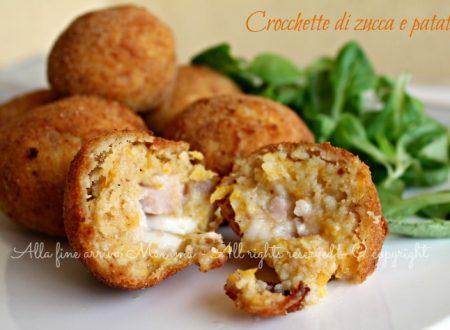 Crocchette zucca patate