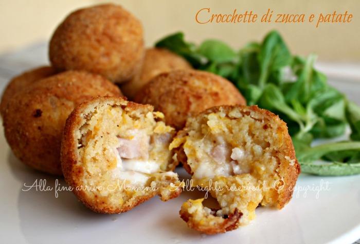 Crocchette zucca patate ricetta Alla fine arriva Mamma