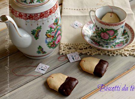 Biscotti bustina tè