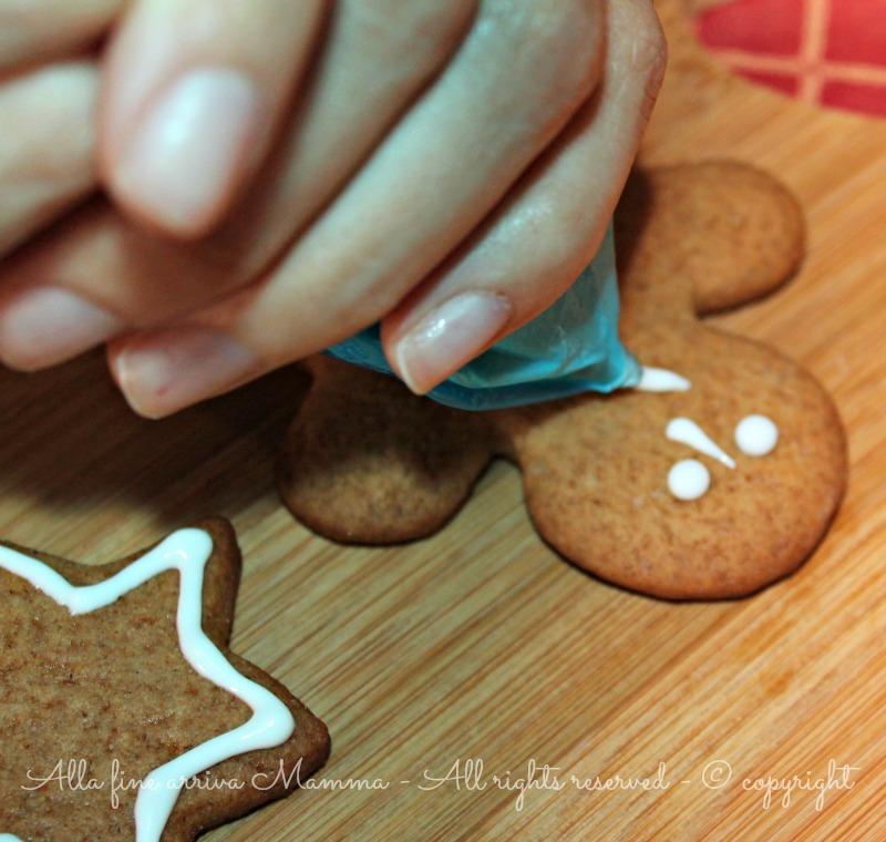 Glassa biscotti Natale bambini Alla fine arriva Mamma