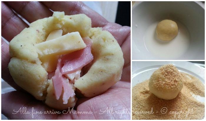 Bombe patate in crosta ricetta Alla fine arriva Mamma