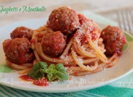 Spaghetti Meatballs di Lilli e il Vagabondo