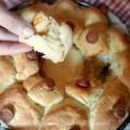 Corona pan brioche formaggio fuso e würstel ricetta Alla fine arriva Mamma