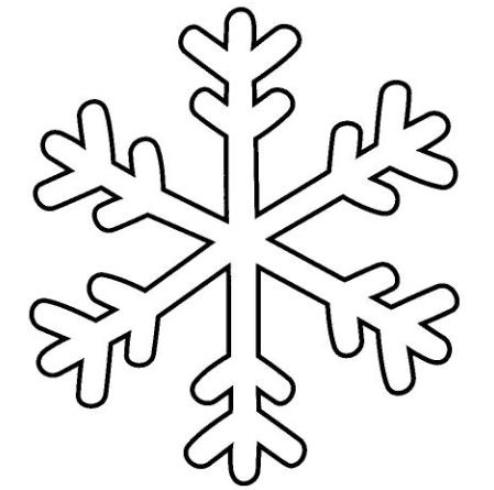 Come fare fiocchi di neve Alla fine arriva Mamma