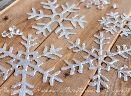 Come fare fiocchi di neve