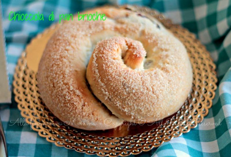 La Chiocciola pan brioche più soffice del mondo Alla fine arriva Mamma