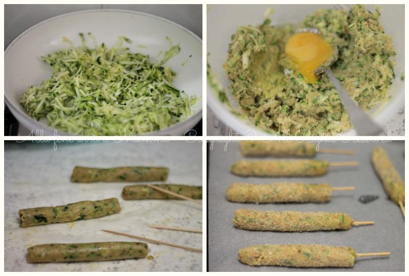 Arrosticini di zucchine Ricetta per bambini Alla fine arriva Mamma