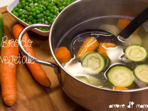 Brodo Vegetale – prime pappe svezzamento