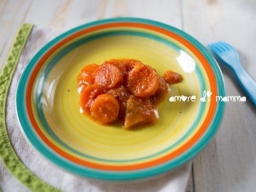 Carote al pomodoro, ricetta contorno