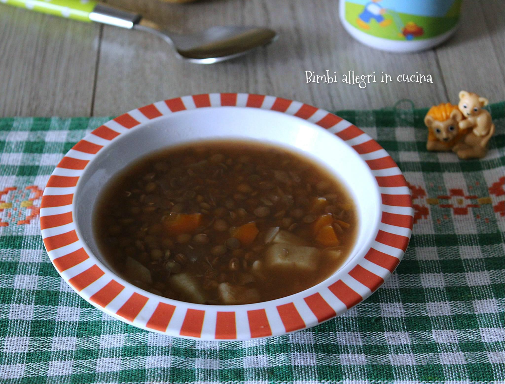 lenticche e patate