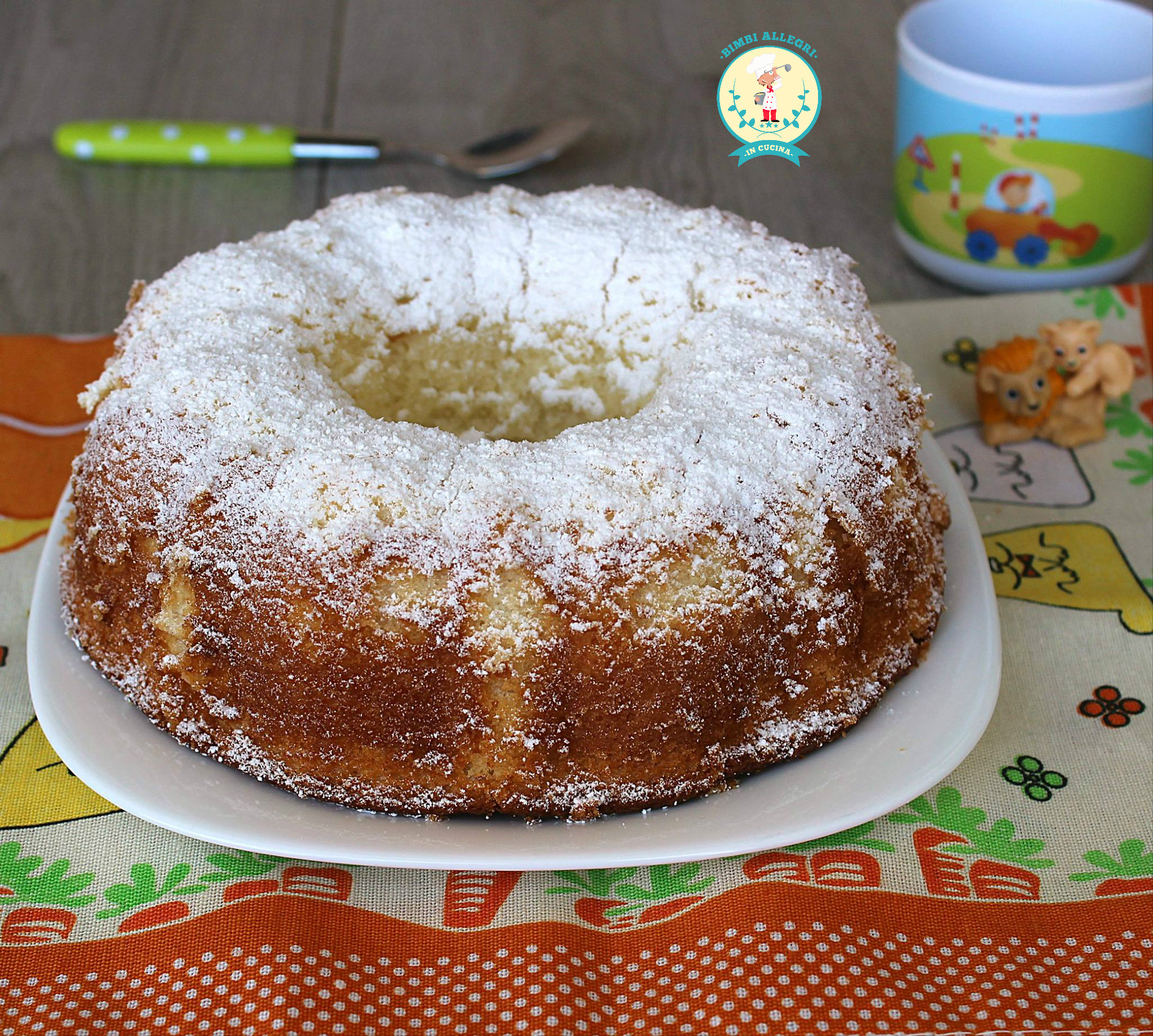 CIAMBELLA ALL'ACQUA E LIMONE
