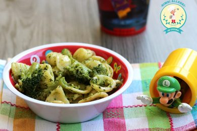 PASTA CON BROCCOLI primo facile