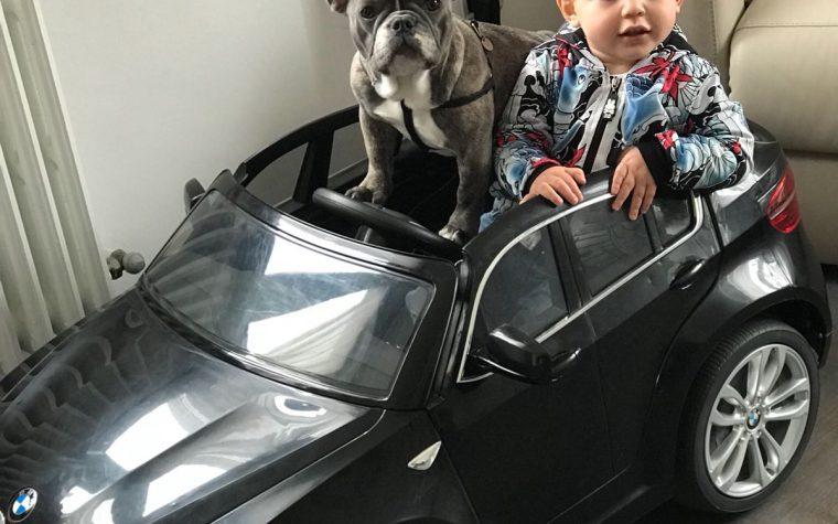 Edoardo e Mia Il rapporto tra il mio bambino e la mia cucciola