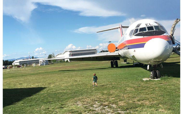 Andiamo a Volandia Il parco e museo per gli appassionati del volo