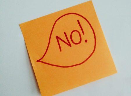 """""""I NO"""": istruzioni per l'uso"""