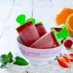 Ghiaccioli fai da te con fragole e yogurt: super sani, super golosi