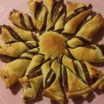 Ricetta sole di pasta sfoglia e nutella