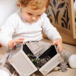 Sensory box dell'inverno per bimbi piccoli