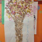 Lavoretto primavera per bambini: L'albero fiorito