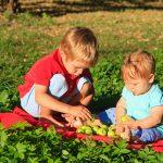 Giochi bambini piccoli 6-12 mesi da fare all'aperto