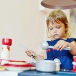 Giocare con le farine per bimbi da 1 a 3 anni
