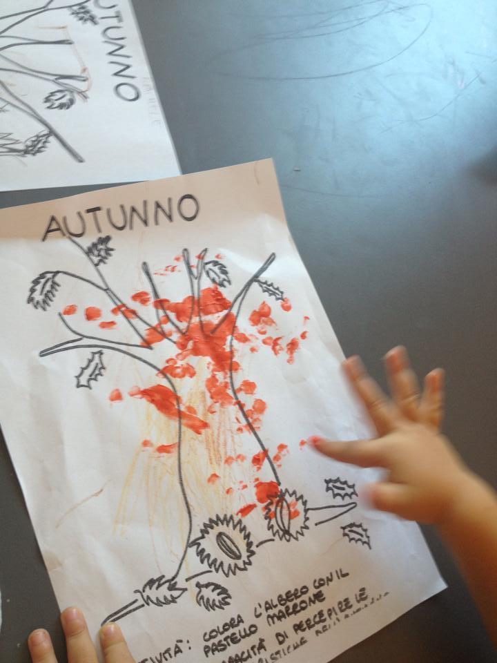 Favorito Lavoretto digitopittura bambini: l'autunno - Ecomamma AU12
