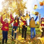 Lavoretto per bambini sull'autunno: i colori delle foglie
