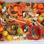 Sensory box autunno: una esplosione di frutti e colori