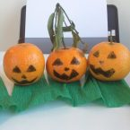 Lavoretti di halloween: una banana e un mandarino diventano…
