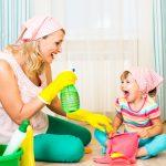 Come coinvolgere bambini nelle pulizie di casa