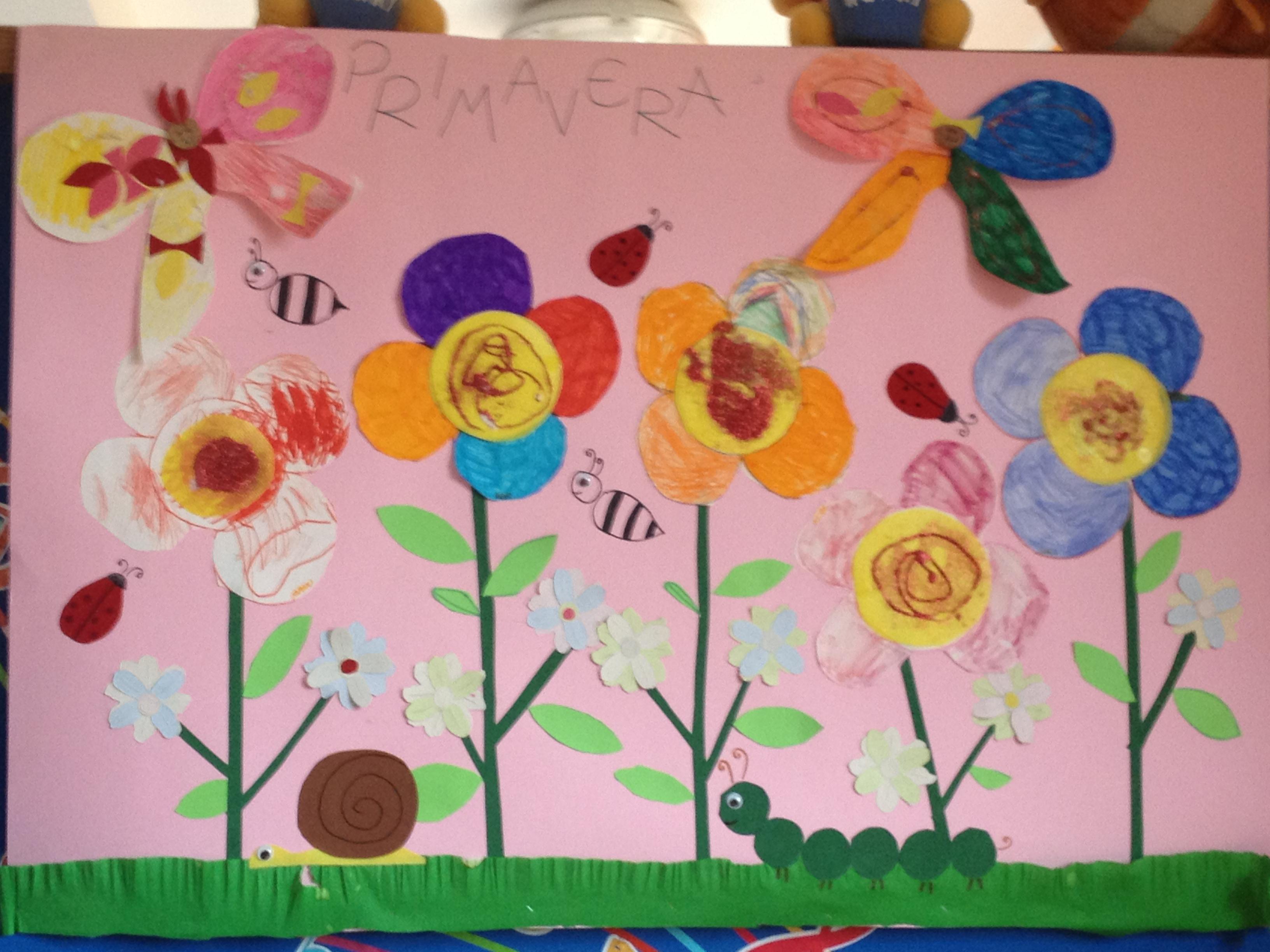 Lavoretti di primavera per bambini 3 progetti ecomamma for Lavoretti estate scuola dell infanzia