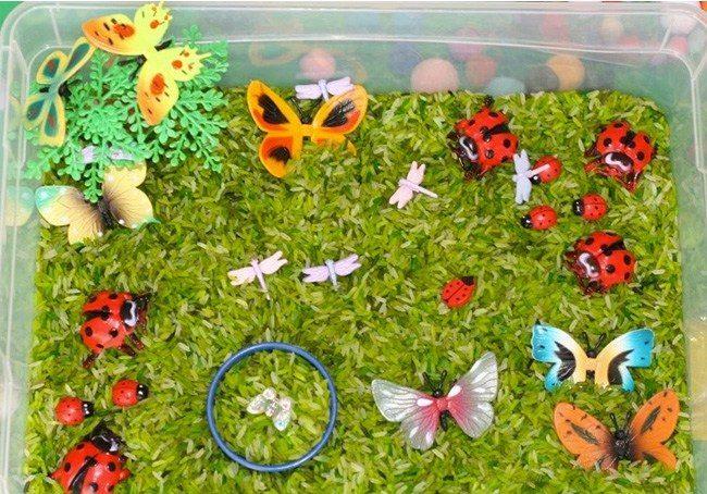 Sensory box primavera: 5 idee creative per realizzarla con i bimbi
