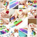 4 Giochi di manipolazione per bambini piccoli da fare in casa