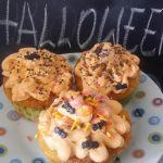 Ricetta cup cakes mandorle e carote per halloween