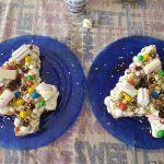 Ricetta torta numeri number cake senza cottura
