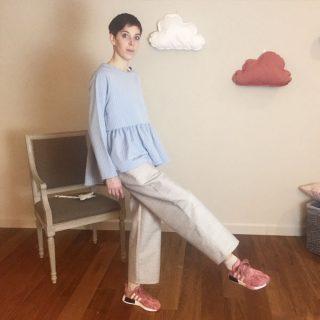 pantalone wool donna