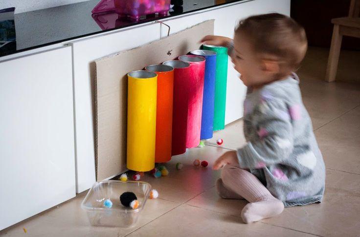 Giochi montessori faidate sui colori for Casa de juguetes para jardin