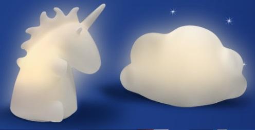 Lampada Unicorno O Nuvola In Regalo Con Aquafresh