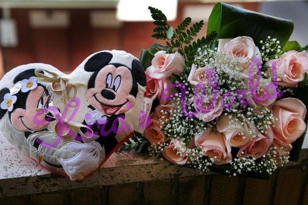 Fedi e bouquet per le nozze