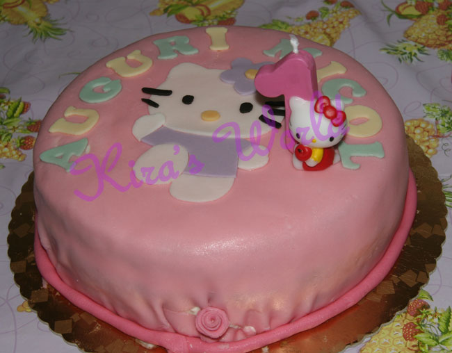 Torta di Hello Kitty