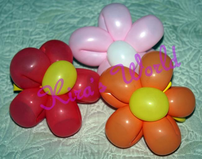 Palloncini a fiore per battesimo