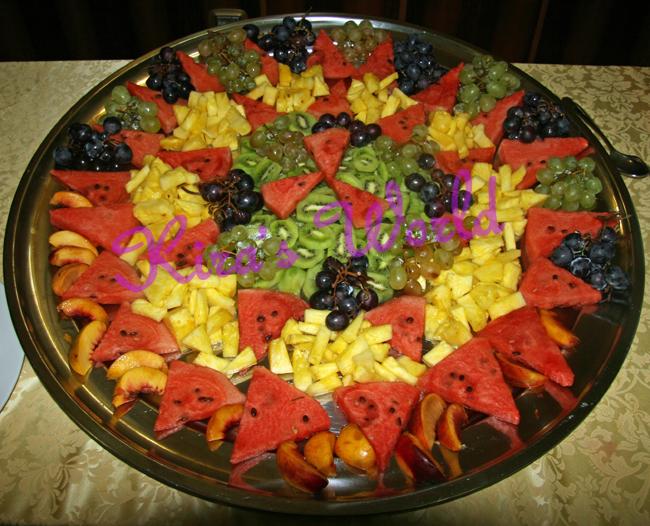 Frutta per il battesimo